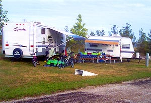 Beantown Campground - Baileys Harbor WI