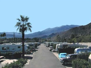 Happy Traveler RV Park - Palm Springs CA