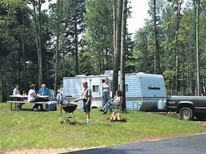 Mohican North Star RV Park - Bowler WI