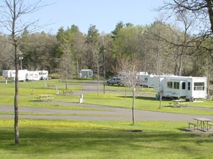 James N McNally Campground - Grantsburg WI