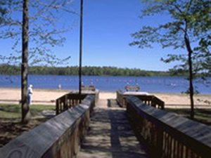 Jimmie Davis State Park at Caney Lake - Chatham LA