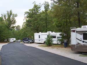 Campground At Barnes Crossing - Tupelo MS