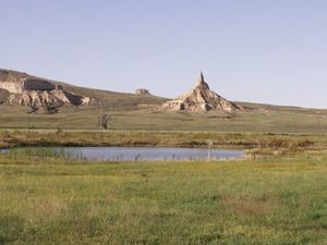 Chimney Rock Pioneer Crossing - South Bayard NE