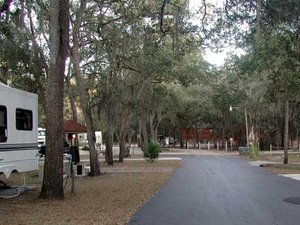Kellys RV Park - White Springs FL
