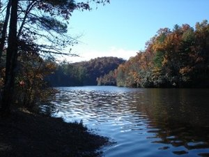 Cascade Lake Recreation Area - Pisgah Forest NC
