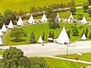 Wigwam Village Inn - Cave City KY