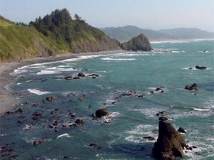 Irelands Ocean View RV Park - Gold Beach OR