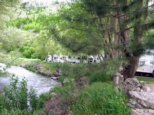 Lava Spa Motel and RV Park - Lava Hot Springs ID