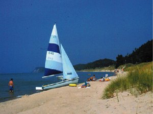 Whispering Surf Camping Resort - Pentwater MI