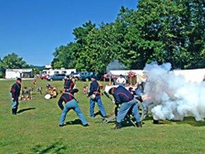 Gettysburg battlefield koa camping in pennsylvania photos