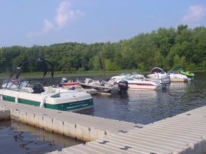 River Bay Campground & Marina - Wisconsin Dells WI